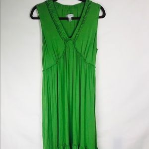 Dress Barn green tank dress